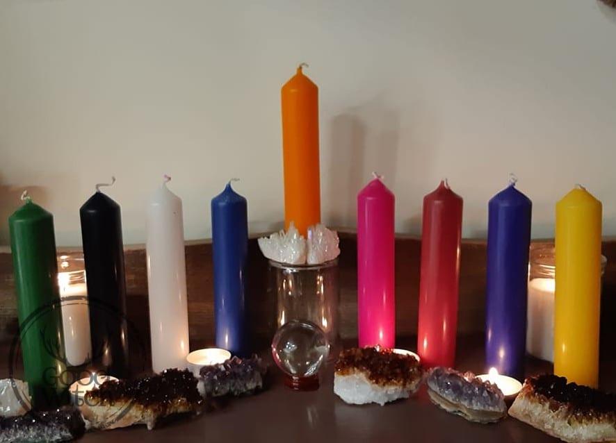 נרות צבעוניים לאלתר ולטקסים
