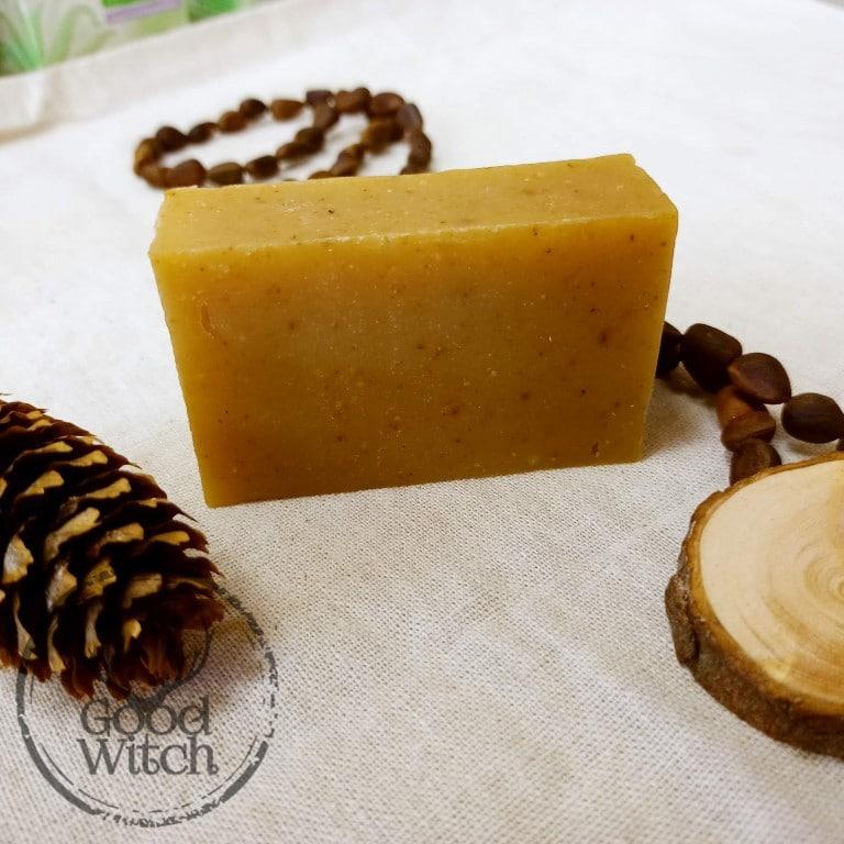 סבון טבעי שמן ארז